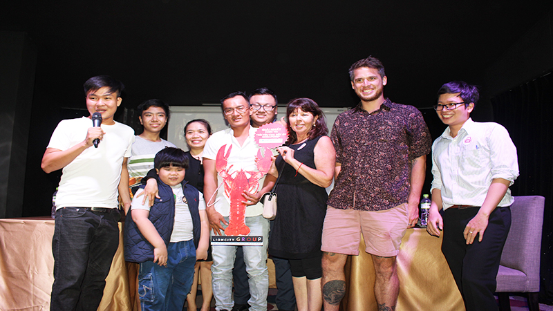 SINGAPORE CHILLI CRAB COMPETITION