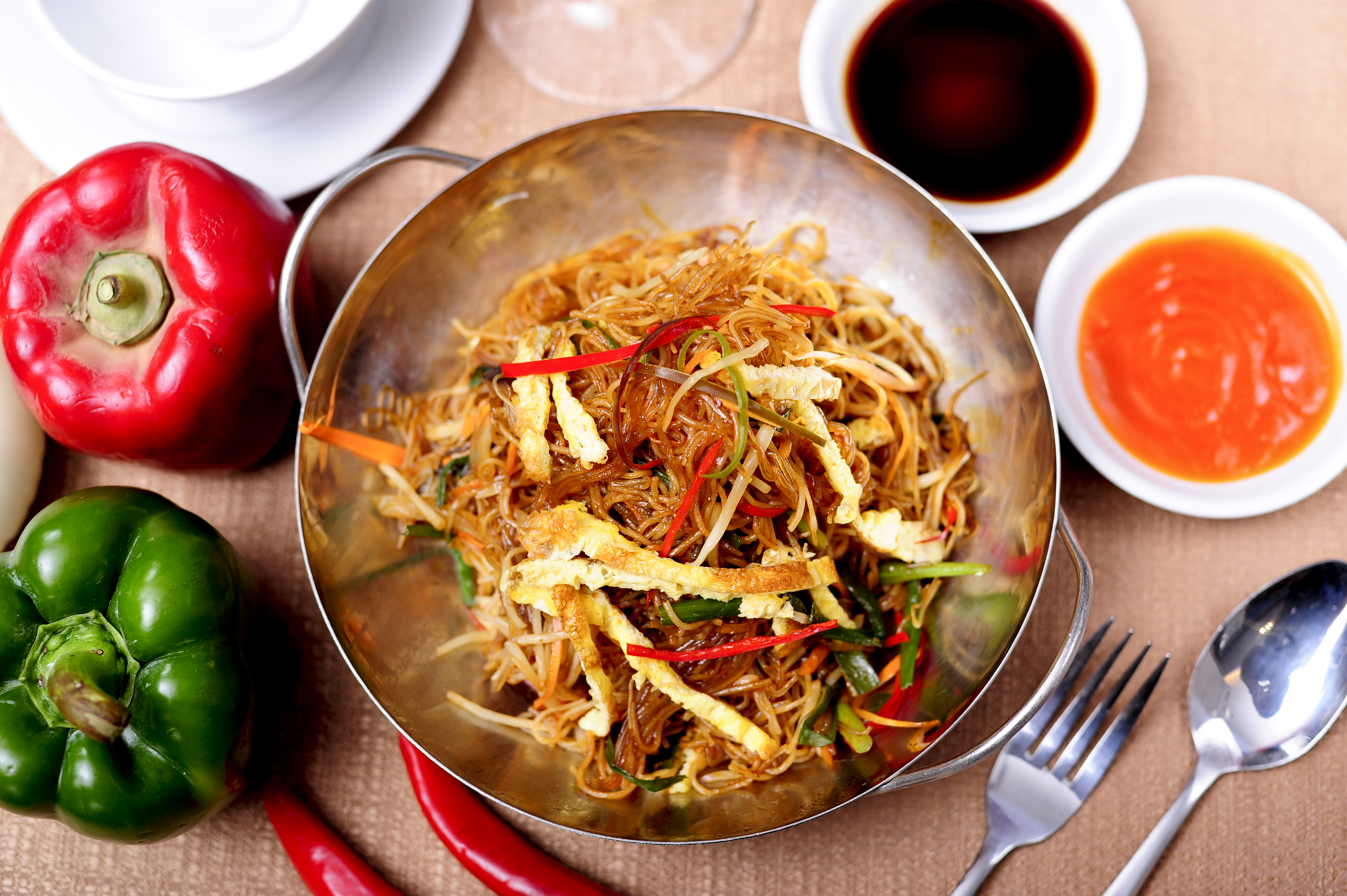 VEGETARIAN FRIED BEE HOON